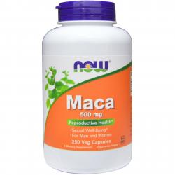 Now Foods Maca 500 mg 250 vcaps