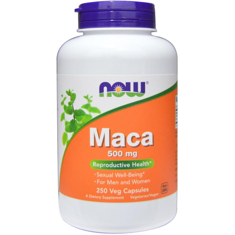 Now Foods Maca 500 mg 250 vcaps - фото 1