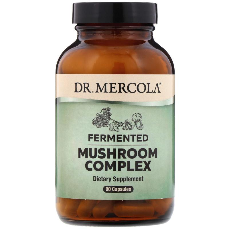 Dr. Mercola Fermented Mushroom Complex 90 capsules - фото 1