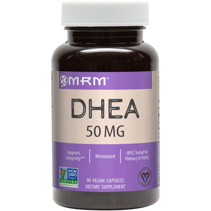 MRM DHEA 50 mg 90 vcaps - фото 1