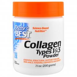 Doctor's Best Collagen Types 1&3 Powder 200 g