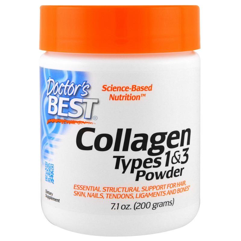 Doctor's Best Collagen Types 1&3 Powder 200 g - фото 1