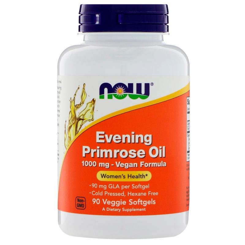 Now Evening Primrose oil 1000 mg 90 softgels - фото 1
