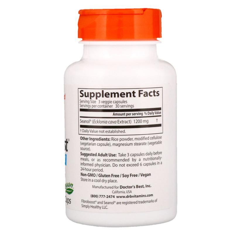 Doctor's Best FibroBoost 400 mg 90 Vcaps - фото 1