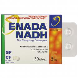 Co E1 Enada NADH 5 mg 30 tablets