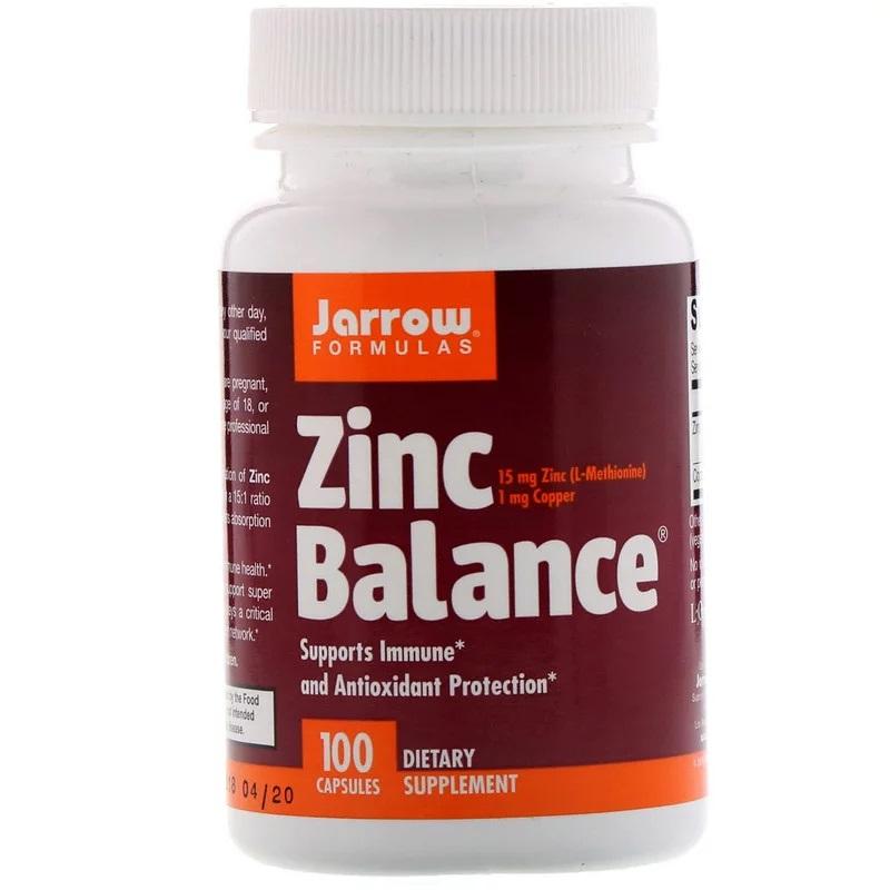 Jarrow Formulas Zinc Balance 100 caps - фото 1