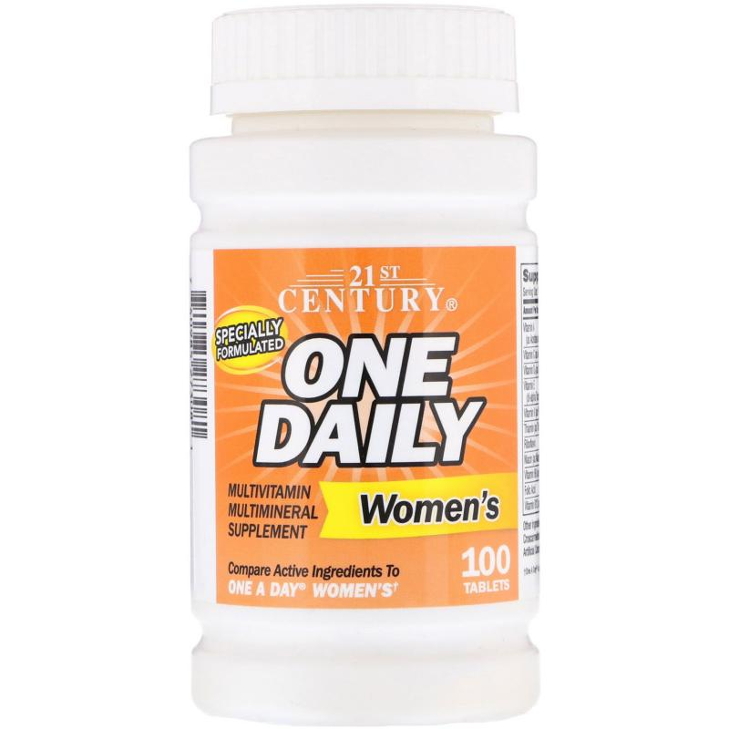 21st Century One Daily Women's 100 Tablets - фото 1