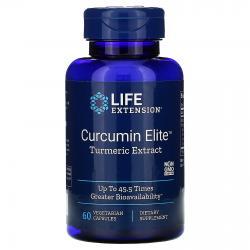 Life Extension Curcumin Elite Turmeric Extract 60 capsules