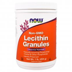 Now Foods Lecithin Granules 454 g
