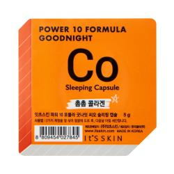 It's Skin Ночная маска-капсула, коллагеновая Power 10 Formula Goodnight Sleeping Capsule CO 5 гр