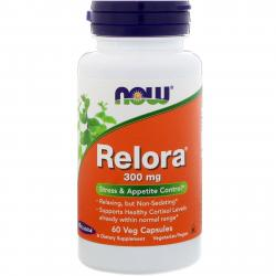 Now Foods Relora 300 mg 60 vcaps