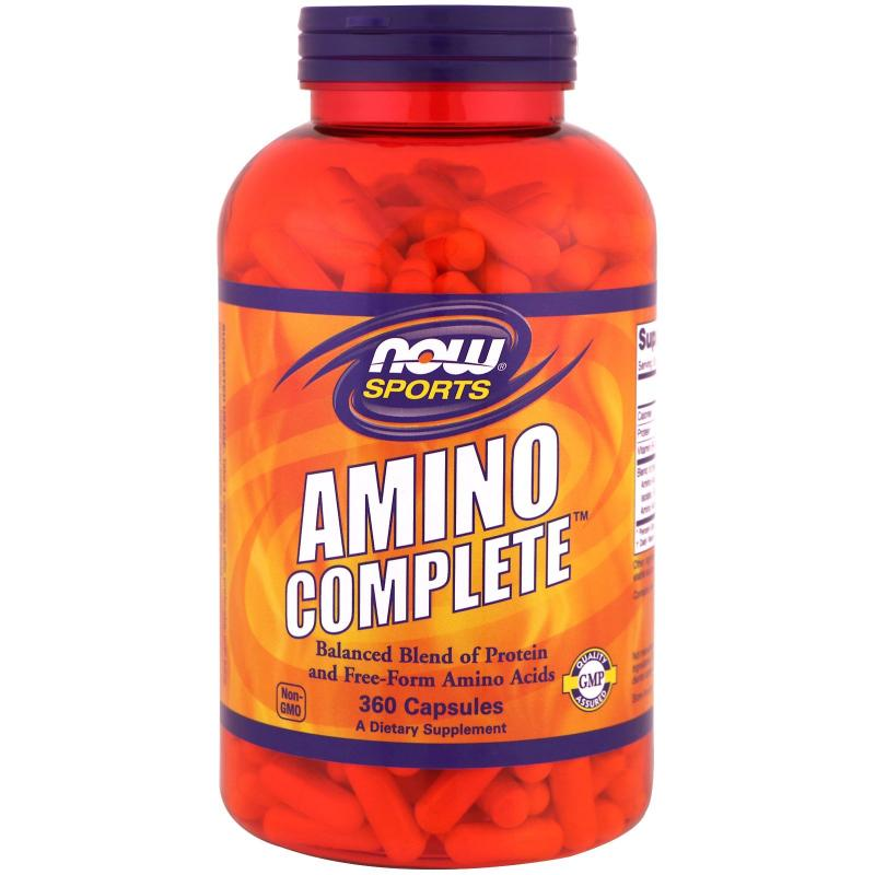 Now Foods Amino Complete 360 caps - фото 1