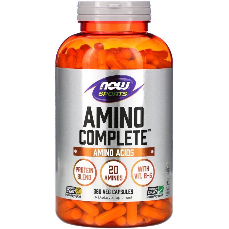 Now Foods Amino Complete 360 caps - фото 1