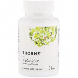 Thorne Research Niacel-250 Nicotinamide Riboside 60 capsules