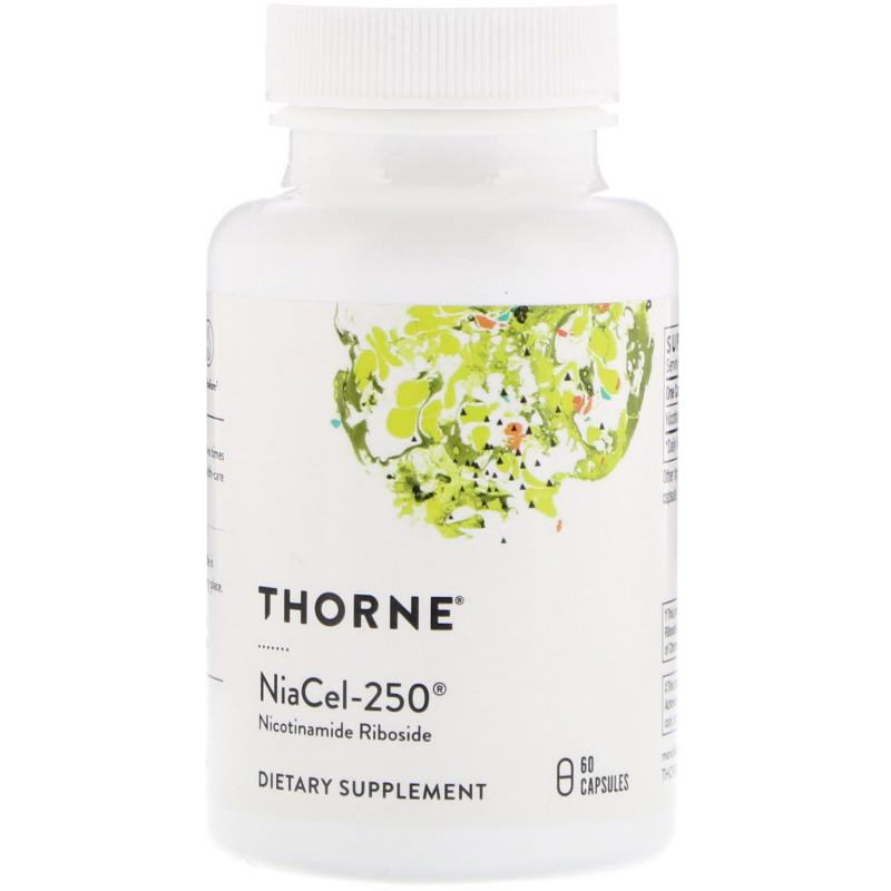 Thorne Research Niacel-250 Nicotinamide Riboside 60 capsules - фото 1