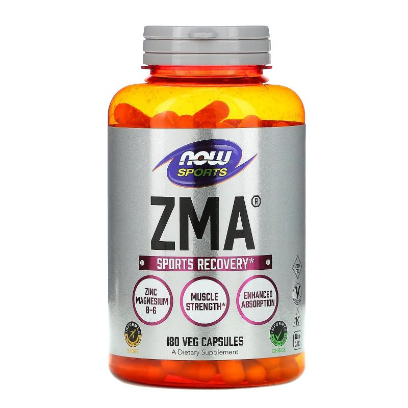 Now Foods ZMA Sports Recovery 180 caps - фото 1