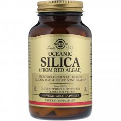 Solgar Oceanic Silica from red algae 100 capsules