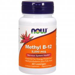 Now Foods Methyl B-12 5000 mcg 60 lozenges