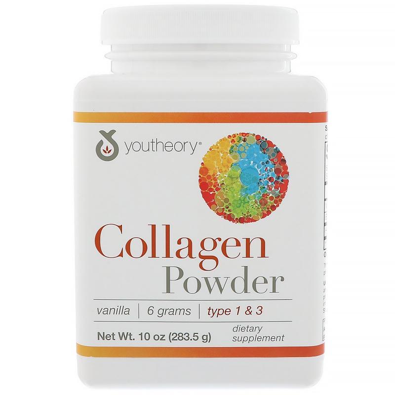 Youtheory Collagen Powder type 1 & 3 283,5 g (говяжий коллаген) - фото 1