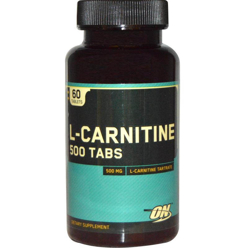 Optimum Nutrition L-Carnitine 500 mg 60 tabs - фото 1