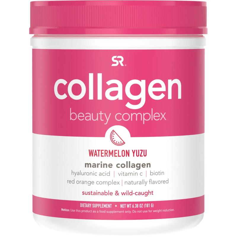 Sports Research Collagen Beauty Complex marine collagen hyaluronic acid vitamin c biotin 163 g арбуз - фото 1