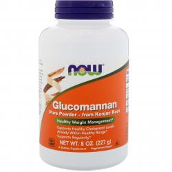 Now Foods Glucomannan Pure Powder from Konjac Root 227 g