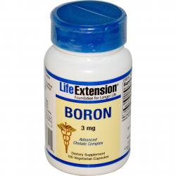 Life Extension Boron 3 mg 100 vcaps