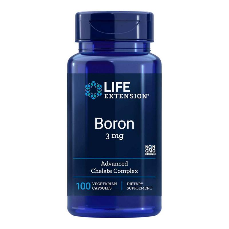 Life Extension Boron 3 mg 100 vcaps - фото 1