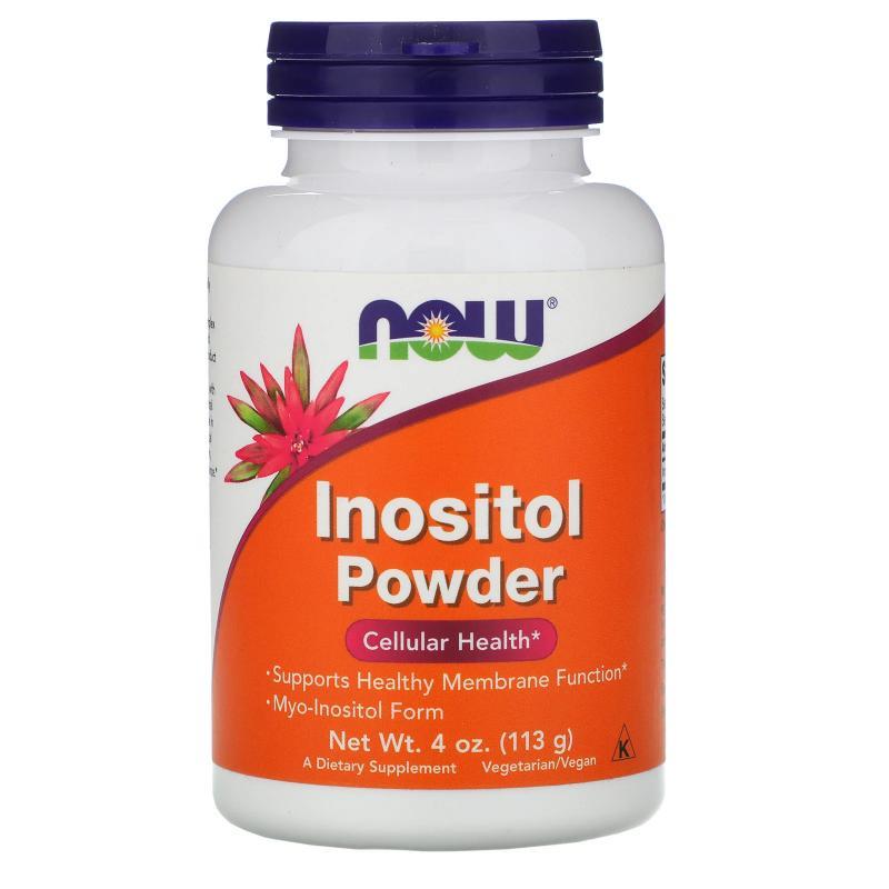Now Foods Inositol Powder 113 g - фото 1