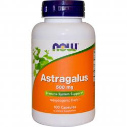 Now Foods Astragalus 500 mg 100 caps