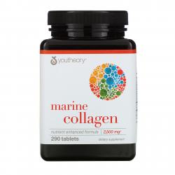 Youtheory Marine Collagen 2500 mg 290 tablets
