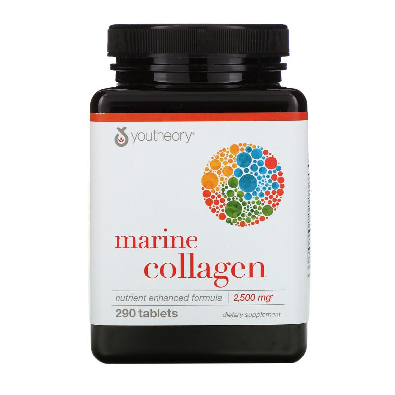 Youtheory Marine Collagen 2500 mg 290 tablets - фото 1