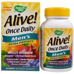 Natures's Way Alive Once Daily Men's Multi-Vitamin 60 tablets - фото 1