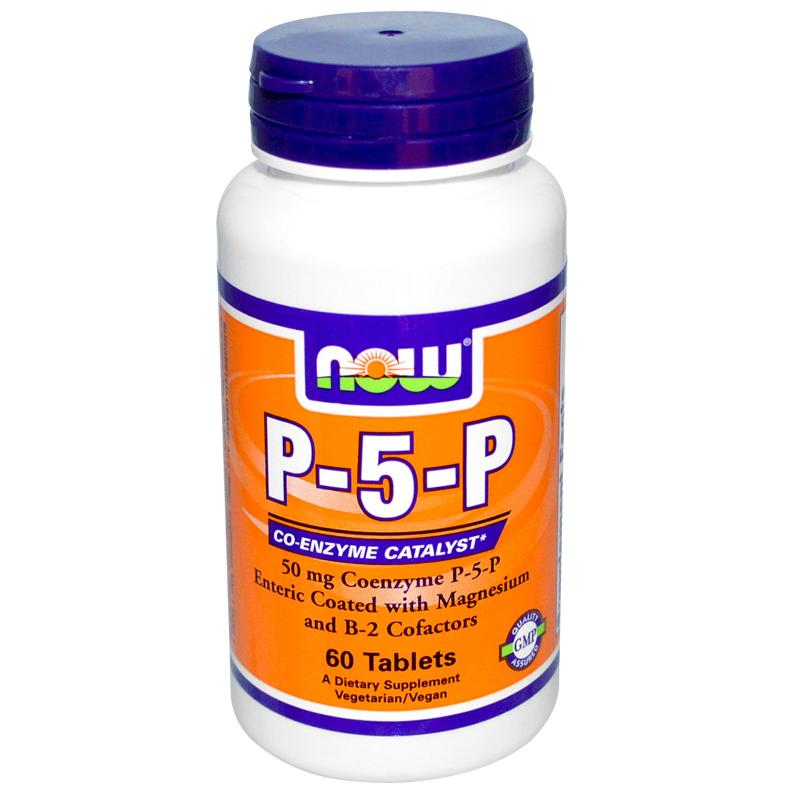 Now Foods P-5-P 50 mg 60 tablets - фото 1