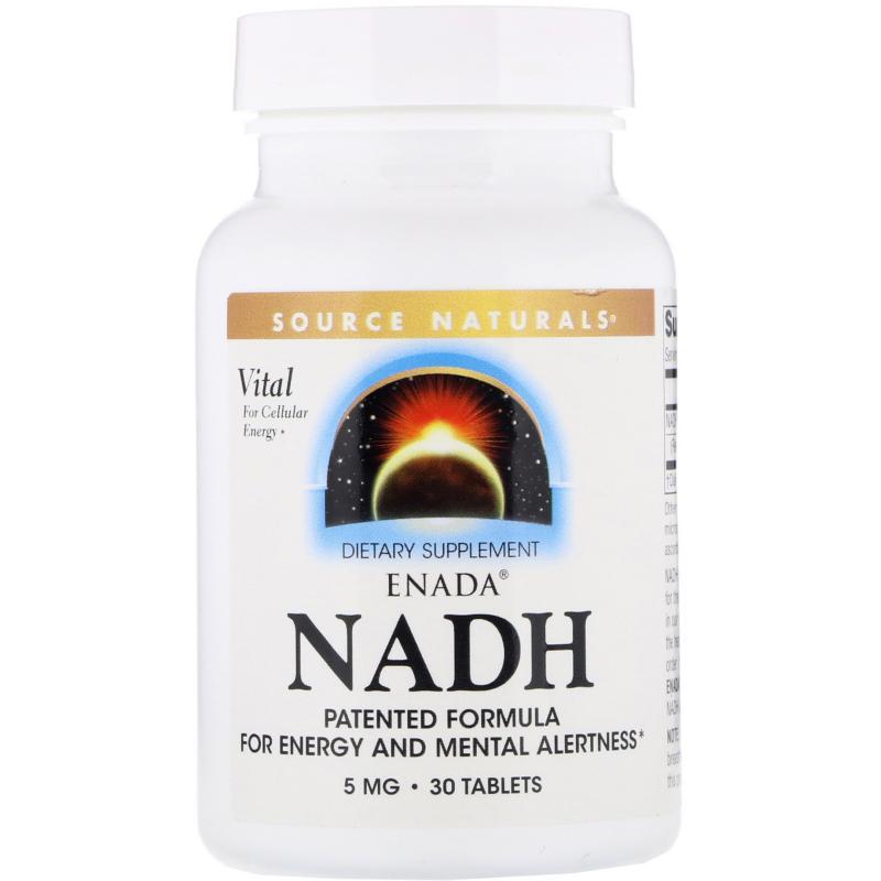 Source Natirals NADH 5 mg 30 tablets - фото 1