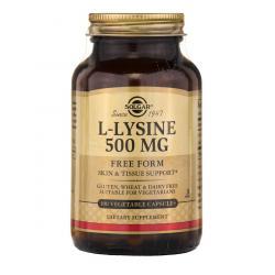 Solgar L-Lysine 500 mg 100 caps
