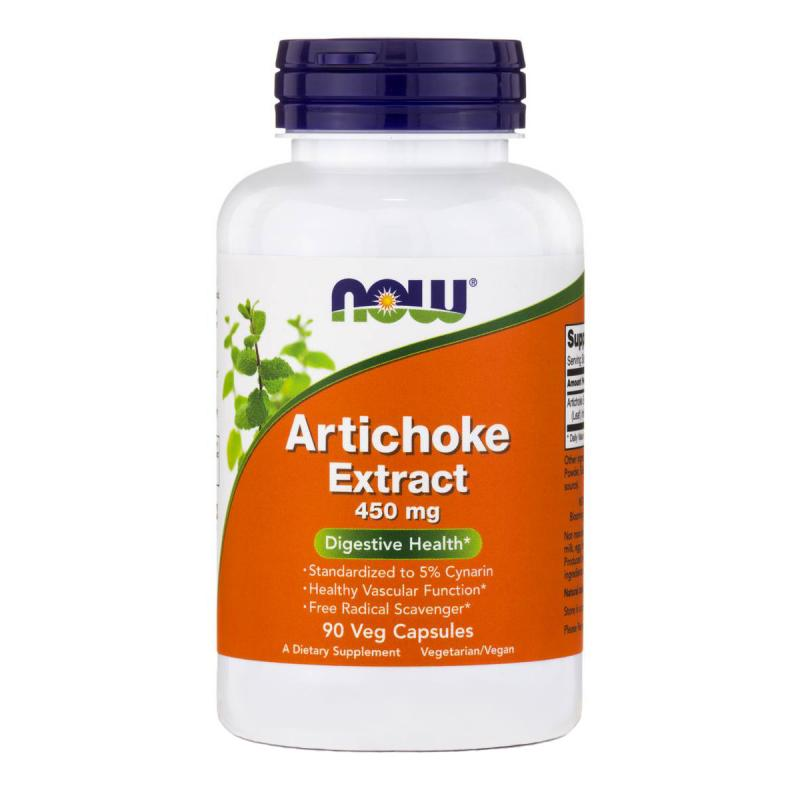 Now Foods Artichoke Extract 450 mg 90 vcaps - фото 1