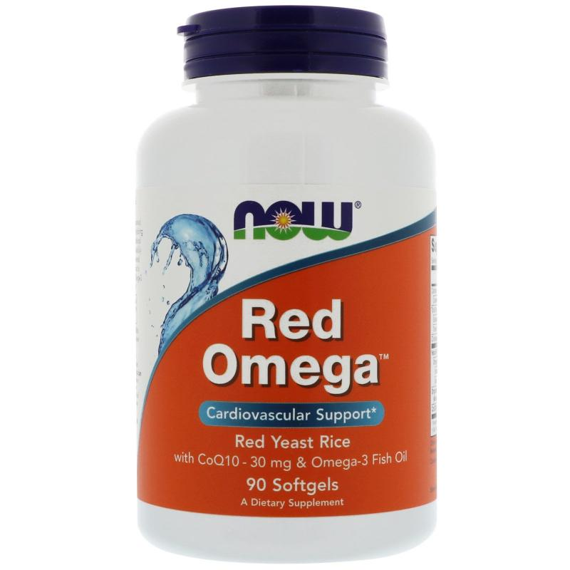 Now Foods Red Omega 90 softgels - фото 1