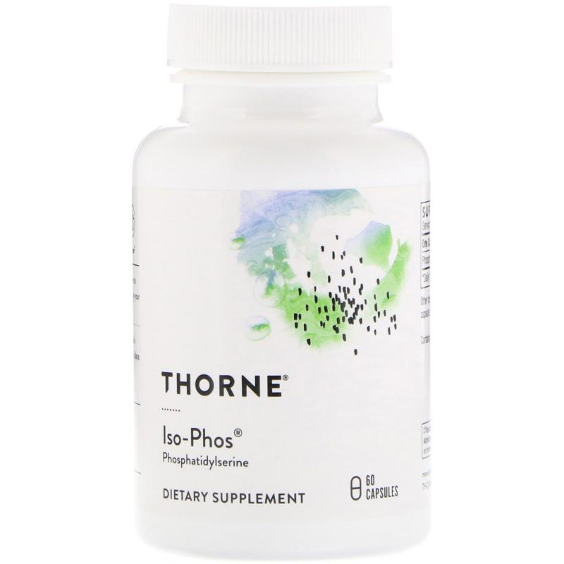 Thorne Reseach ISO-PHOS 60 vegetarian capsules - фото 1