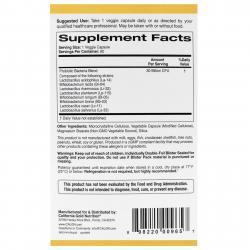 California Gold Nutrition LactoBif Probiotics 30 Billion CFU 60 Veggie Capsules