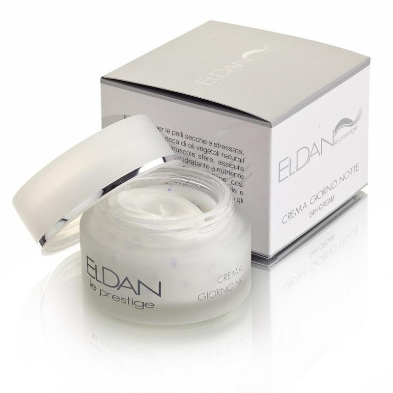 Eldan Le Prestige Creama Giorno Notte 24H cream Питательный крем для лица 24 часа с микросферами - фото 1