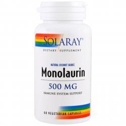 Solarya Monolaurin 500 mg 60 vcaps