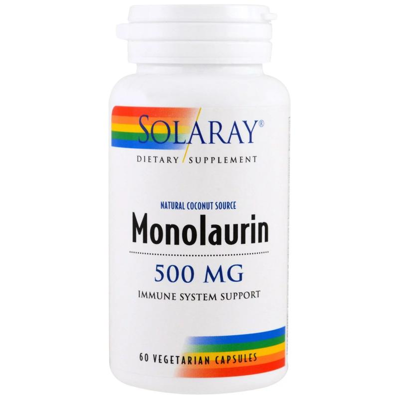 Solarya Monolaurin 500 mg 60 vcaps - фото 1