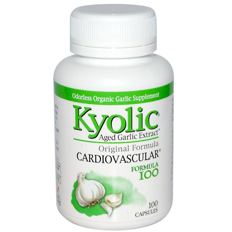 Kyolic Aged Garlic Extract Cardiovascular 100 capsules - фото 1