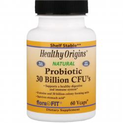 Healthy Origins Probiotic 30 Billion CFU`s 60 vcaps