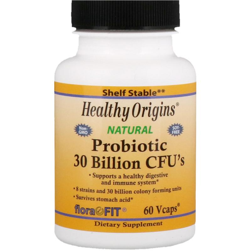 Healthy Origins Probiotic 30 Billion CFU`s 60 vcaps - фото 1