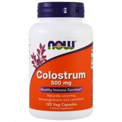 Now Foods Colostrum 500 mg 120 vcaps