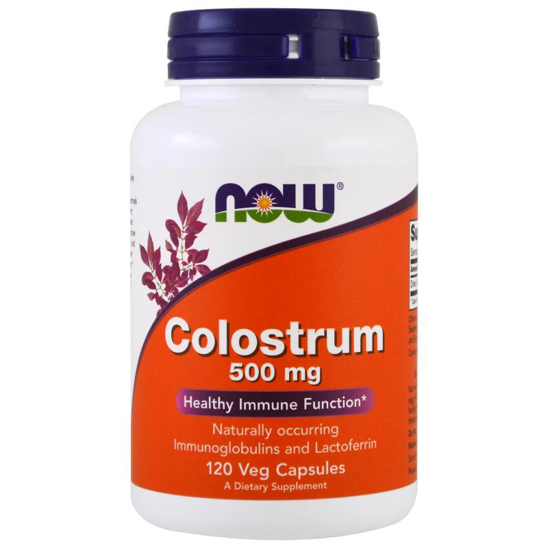 Now Foods Colostrum 500 mg 120 vcaps - фото 1