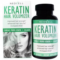 Neocell Keratin Keratin Hair Volumizer 60 capsules