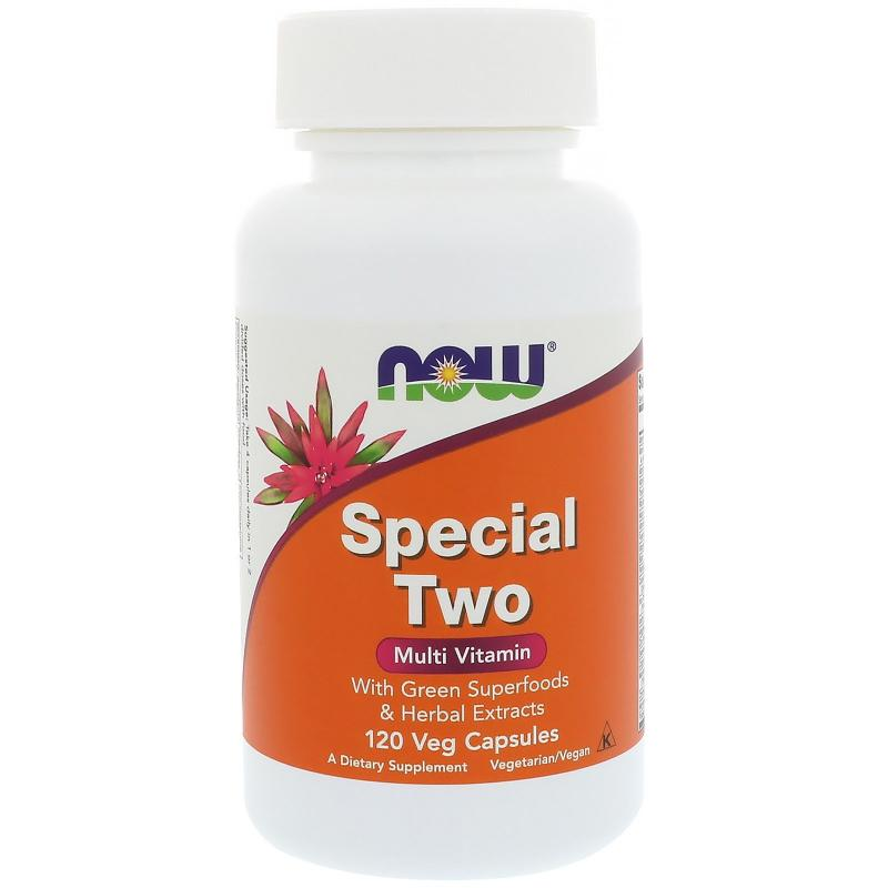 Now Foods Special Two Multi Vitamin 120 vcaps - фото 1
